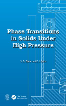 Phase Transitions in Solids Under High Pressure: 1st Edition (Hardback) book cover