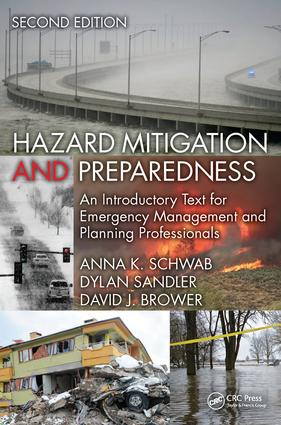 Hazard Mitigation and Preparedness: An Introductory Text for Emergency Management and Planning Professionals, Second Edition book cover