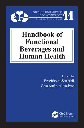 Handbook of Functional Beverages and Human Health: 1st Edition (Hardback) book cover