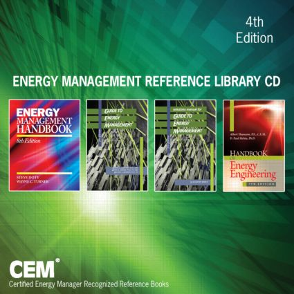 Energy Management Reference Library CD, Fourth Edition: 4th Edition (CD-ROM) book cover