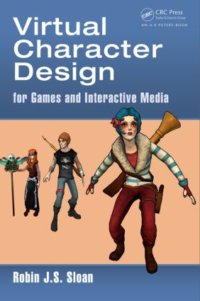 Virtual Character Design for Games and Interactive Media book cover