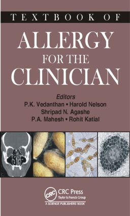 Textbook of Allergy for the Clinician: 1st Edition (Hardback) book cover