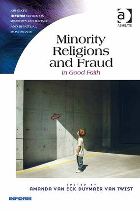 Minority Religions and Fraud: In Good Faith (Hardback) book cover