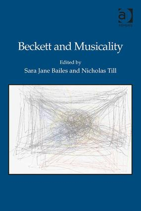 Beckett and Musicality: 1st Edition (Hardback) book cover