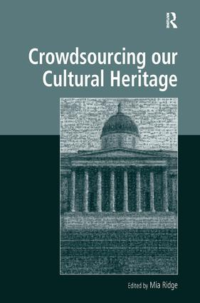 Crowdsourcing our Cultural Heritage: 1st Edition (Hardback) book cover