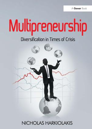 Multipreneurship: Diversification in Times of Crisis, 1st Edition (Hardback) book cover