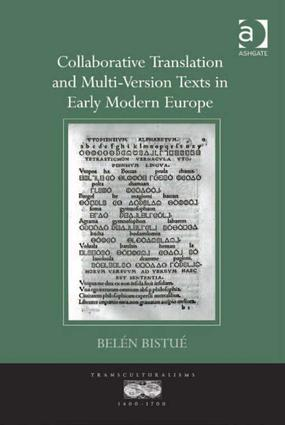 Collaborative Translation and Multi-Version Texts in Early Modern Europe book cover