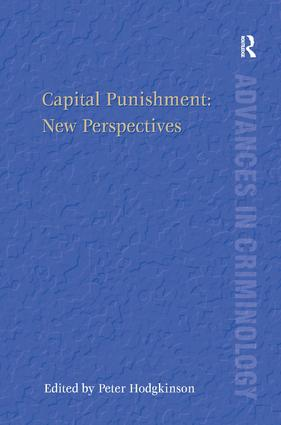 Capital Punishment: New Perspectives book cover