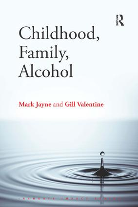 Childhood, Family, Alcohol book cover