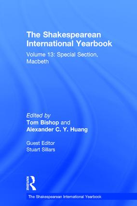 The Shakespearean International Yearbook: Volume 13: Special Section, Macbeth book cover