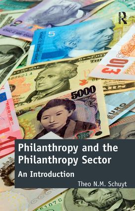 Philanthropy and the Philanthropy Sector: An Introduction, 1st Edition (Paperback) book cover