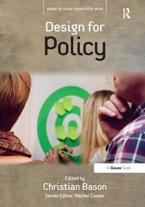 Design for Policy (Hardback) book cover