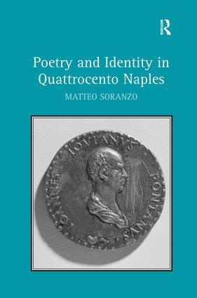 Poetry and Identity in Quattrocento Naples: 1st Edition (Hardback) book cover