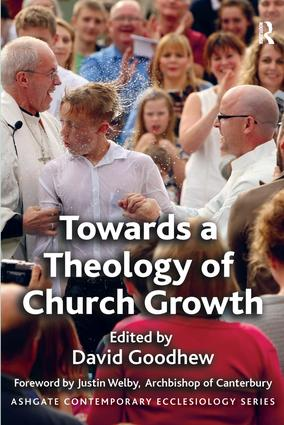 Towards a Theology of Church Growth book cover