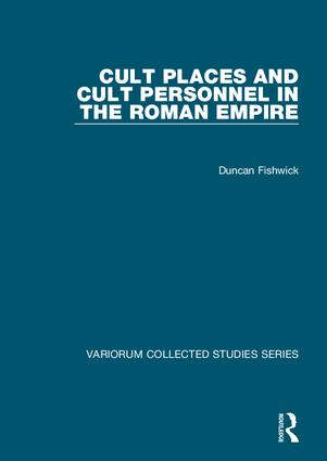 Cult Places and Cult Personnel in the Roman Empire book cover