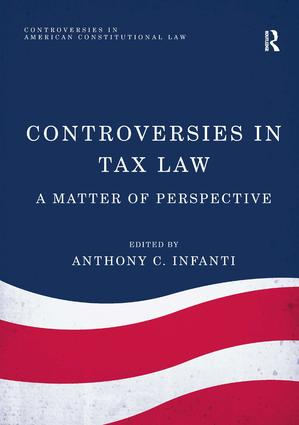 Controversies in Tax Law: A Matter of Perspective book cover