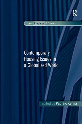 Contemporary Housing Issues in a Globalized World (Acquisition eBook) book cover