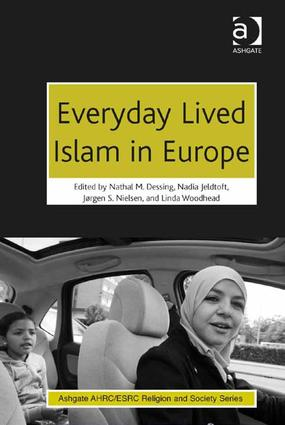 Everyday Lived Islam in Europe (Hardback) book cover