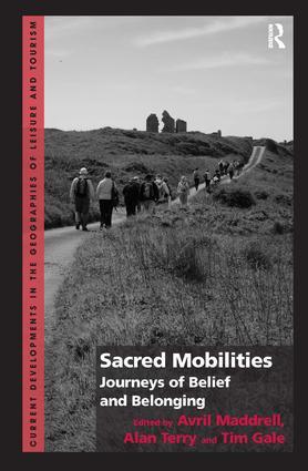 Sacred Mobilities: Journeys of Belief and Belonging (Hardback) book cover