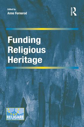Funding Religious Heritage book cover