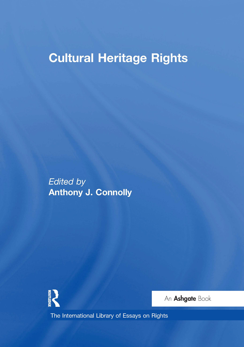 Cultural Heritage Rights: 1st Edition (Hardback) book cover