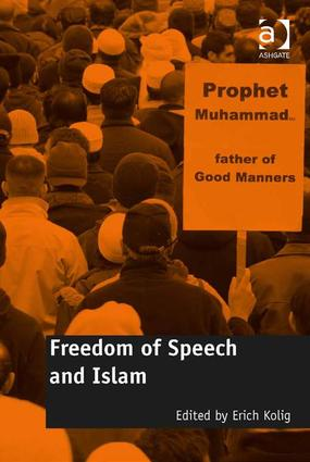 Freedom of Speech and Islam: 1st Edition (Hardback) book cover