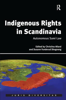 Indigenous Rights in Scandinavia: Autonomous Sami Law (Hardback) book cover