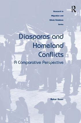 Diasporas and Homeland Conflicts: A Comparative Perspective, 1st Edition (Hardback) book cover