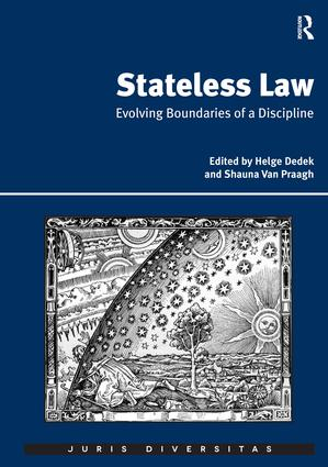 Stateless Law: Evolving Boundaries of a Discipline (Hardback) book cover