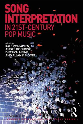 Song Interpretation in 21st-Century Pop Music (Hardback) book cover