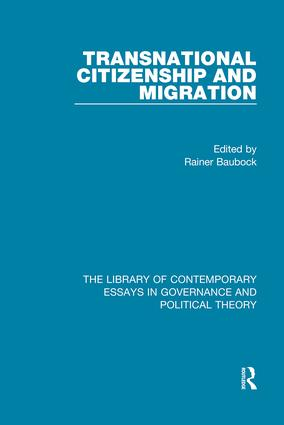 Transnational Citizenship and Migration: 1st Edition (Hardback) book cover
