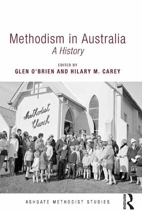Methodism in Australia: A History (Hardback) book cover