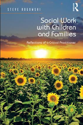Social Work with Children and Families (Hardback) book cover