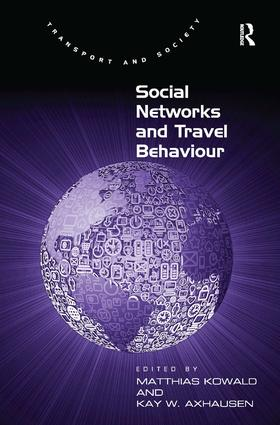 Social Networks and Travel Behaviour: 1st Edition (Hardback) book cover