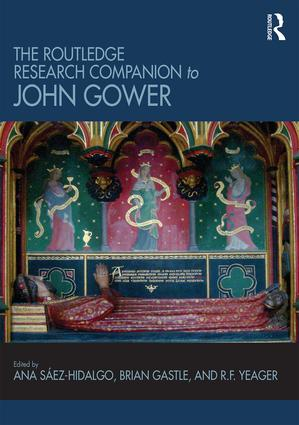 The Routledge Research Companion to John Gower (Hardback) book cover