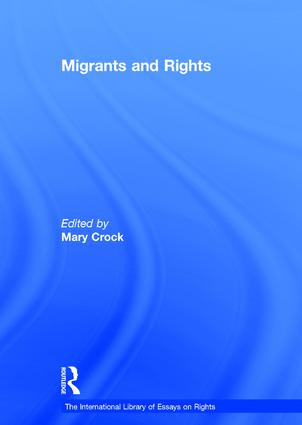 Migrants and Rights: 1st Edition (Hardback) book cover
