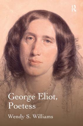 George Eliot, Poetess: 1st Edition (Hardback) book cover