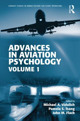 Advances in Aviation Psychology: Volume 1 (Hardback) book cover