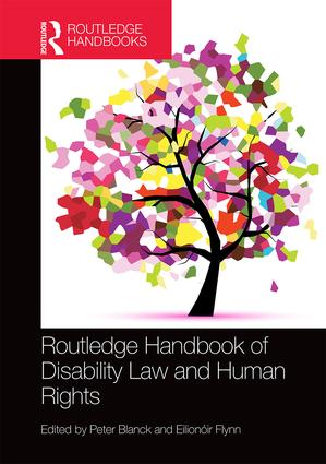 Routledge Handbook of Disability Law and Human Rights book cover