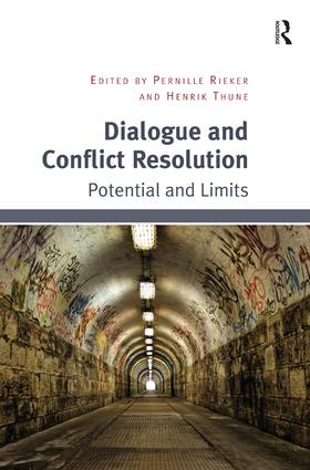 Dialogue and Conflict Resolution: Potential and Limits, 1st Edition (Hardback) book cover