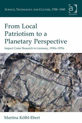 From Local Patriotism to a Planetary Perspective (Hardback) book cover