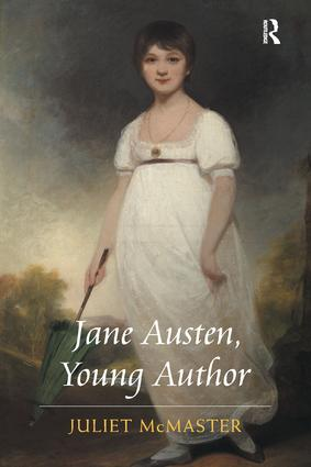 Jane Austen, Young Author: 1st Edition (Hardback) book cover