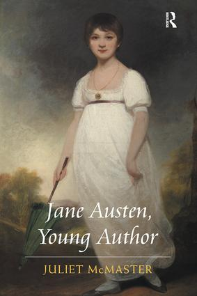 Jane Austen, Young Author: 1st Edition (Paperback) book cover