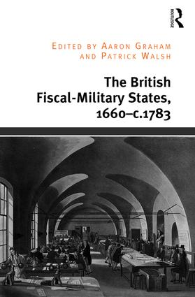 The British Fiscal-Military States, 1660-c.1783: 1st Edition (Hardback) book cover