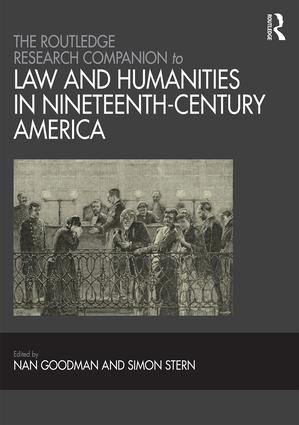 The Routledge Research Companion to Law and Humanities in Nineteenth-Century America book cover