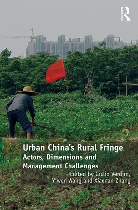Urban China's Rural Fringe: Actors, Dimensions and Management Challenges, 1st Edition (Hardback) book cover
