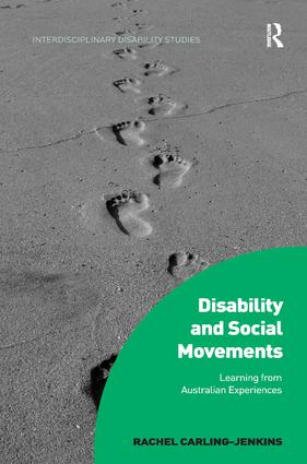 Disability and Social Movements: Learning from Australian Experiences book cover