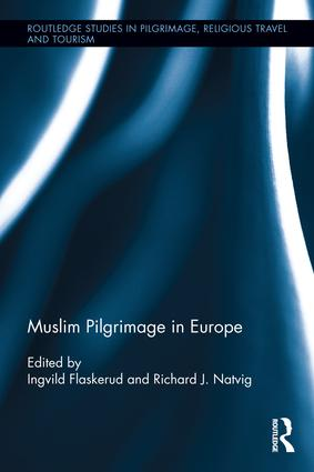 Muslim Pilgrimage in Europe: 1st Edition (Hardback) book cover