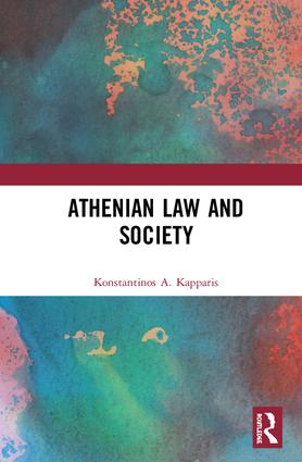 Athenian Law and Society book cover