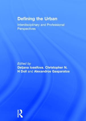 Defining the Urban: Interdisciplinary and Professional Perspectives book cover